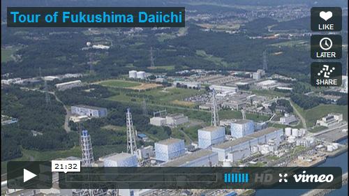 Fukushima Plant Tour - ALLOW IMAGES