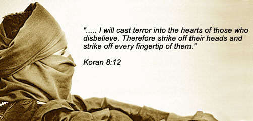 Weekly Islamic verse of war and hate - ALLOW IMAGES