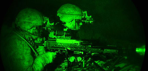 Night Live Fire Exercise with NATO - ALLOW IMAGES