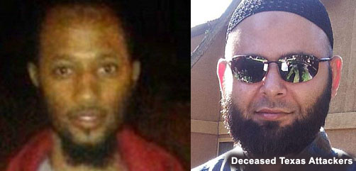 Deceased Texas Attackers - ALLOW IMAGES