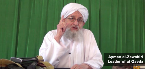 al Qaeda leader Ayman al-Zawahiri - ALLOW IMAGES