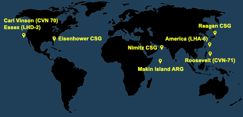 Fleet and Marine Tracker Map as of Jan 21, 2021  - ALLOW IMAGES