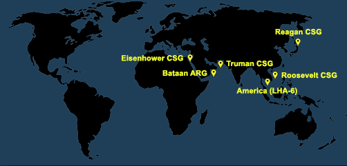 Fleet and Marine Tracker Map as of March 9, 2020  - ALLOW IMAGE8