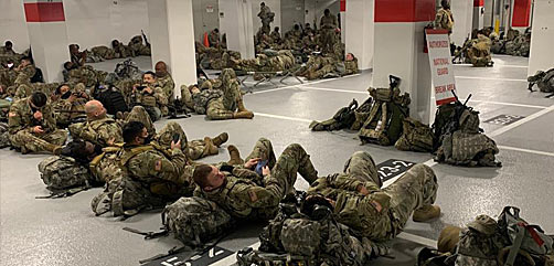 Outrage Over Treatment of National Guard in DC - ALLOW IMAGES